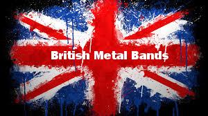 British metal bands